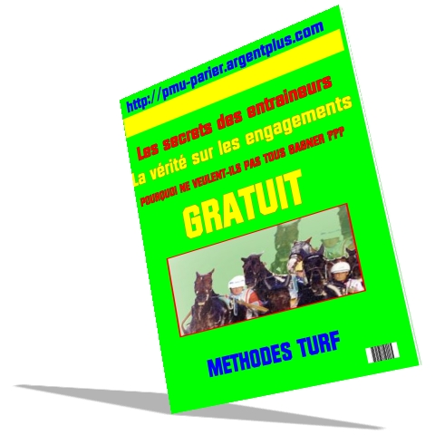engagement courses de trot, turf