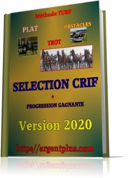 Méthode crif, selection turf, trot,plat, obstacle