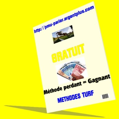 methode jeu simple gagnant, turf,pmu