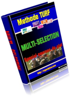 methode turf multi-selection courses plat